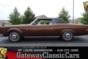 1971 Lincoln Continental -- Photo