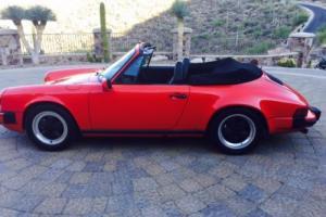 1983 Porsche 911 CAB