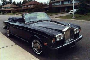 Rolls-Royce: Corniche leather