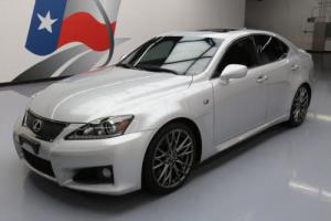 2011 Lexus IS F 416HP PADDLE SHIFT SUNROOF NAV