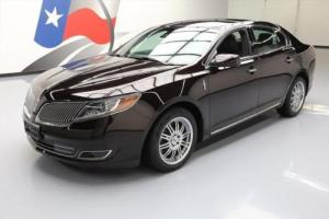 2013 Lincoln MKS CLIMATE LEATHER BLUETOOTH REAR CAM