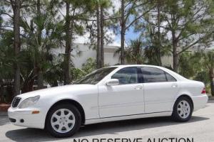 2001 Mercedes-Benz S-Class --