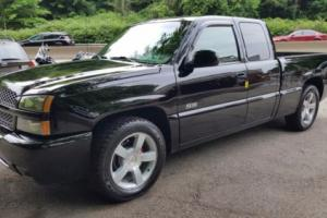 2003 Chevrolet Silverado 1500 SS*AWD Black Pickup*Power Leather*97k Miles