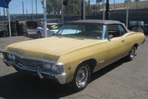 1967 Chevrolet Impala convertible Photo