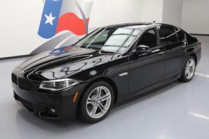 2014 BMW 5-Series 528I M SPORT LINE TURBO SUNROOF NAVIGATION