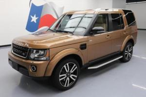 2016 Land Rover LR4 AWD HSE LUX PANO ROOF NAV 20'S