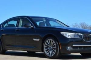 2012 BMW 7-Series 740i Sedan