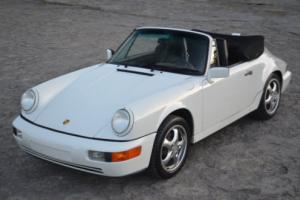 1990 Porsche 911 2dr Coupe 2 Cabriolet Tiptronic