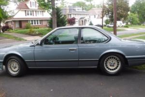 1988 BMW 6-Series 6 SERIES