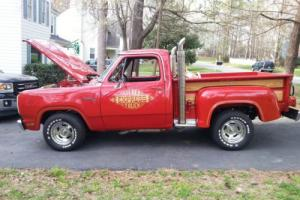 1978 Dodge Other Pickups D150 Red Express