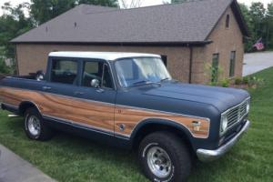 1973 International Harvester Other Wagonmaster
