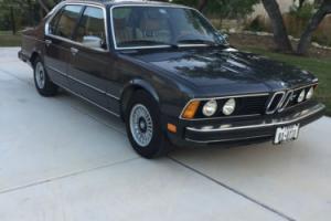 1981 BMW 7-Series