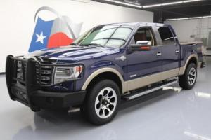 2013 Ford F-150 KING RANCH CREW 4X4 ECOBOOST SUNROOF NAV