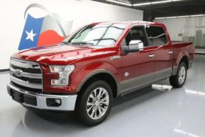 2015 Ford F-150 KING RANCH CREW 5.0 PANO NAV 20'S