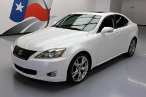 2009 Lexus IS CLIMATE SEATS SUNROOF NAV BLUETOOTH