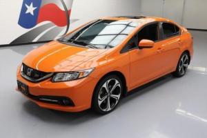 2014 Honda Civic SI SEDAN AUTO SUNROOF REAR CAM