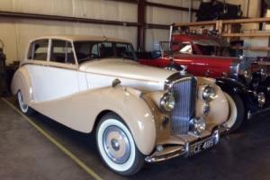 1954 Bentley R-type H J Mulliner