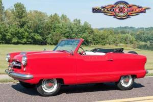 1954 Nash Metropolitan Convertible Metropolitan Convertible