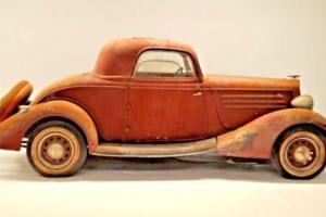 1934 Hupmobile Series 417-W 3 window