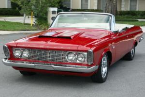 1963 Plymouth Fury HEMI CONVERTIBLE - A/C - 4K MILES Photo