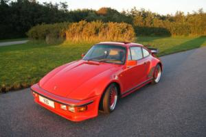1982 Porsche 930 turbo flatnose