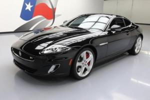 2015 Jaguar XKR COUPE S/C LEATHER NAV REAR CAM 20'S