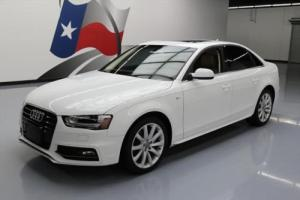 2014 Audi A4 2.0T PREMIUM S LINE HTD SEATS SUNROOF
