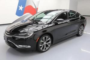 2015 Chrysler 200 Series C AWD PANO SUNROOF LEATHER NAV