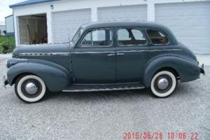 1940 Chevrolet Special Deluxe four-door Sport Sedan