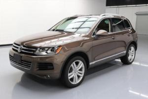 2014 Volkswagen Touareg EXECUTIVE AWD PANO ROOF NAV
