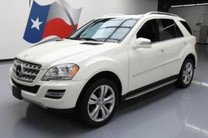 2011 Mercedes-Benz M-Class ML350 AWD P2 SUNROOF NAV 20'S