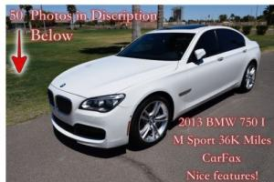 2013 BMW 7-Series I