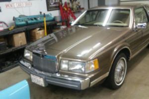 1985 Lincoln Mark Series