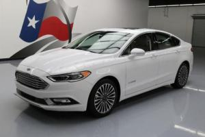 2017 Ford Fusion TITANIUM HYBRID LEATHER SUNROOF