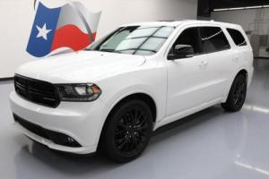 2015 Dodge Durango R/T BLACKTOP HEMI SUNROOF NAV DVD