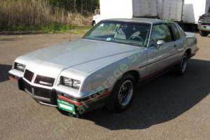 1986 Pontiac Grand Prix 2+2 Aerocoupe Photo