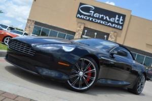 2012 Aston Martin DB9 CONVERTIBLE * V12 * OVER $230K NEW * CARFAX CERT!