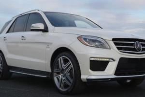 2014 Mercedes-Benz M-Class ML63 AMG Performance Package