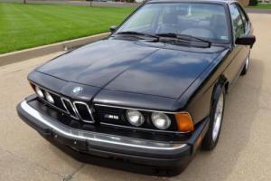1987 BMW 6-Series M6