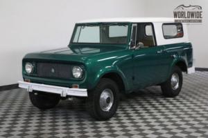 1964 International Harvester Scout RARE OVERDRIVE. 4X4. CONVERTIBLE