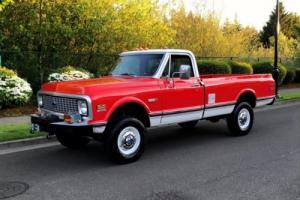 1972 Chevrolet C/K Pickup 2500 Chevy, GMC, K20, 2500, Silverado, Cheyenne, Other