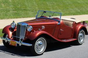1951 MG T-Series Roadster