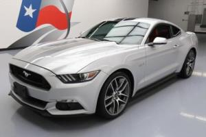2016 Ford Mustang 5.0 GT AUTO RED LEATHER NAV 20'S
