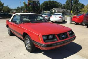 1983 Ford Mustang GLX 2dr Convertible Convertible Automatic 3-Speed