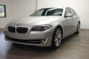 2011 BMW 5-Series 535i Sport 6 Speed One Owner