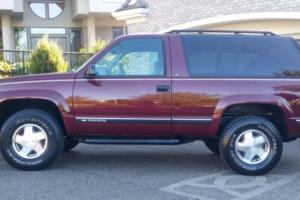 1998 Chevrolet Tahoe 1998 Chevy Tahoe 2-Door