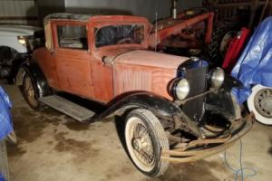 1929 Graham-Paige 612 Coupe Barn Find NO RESERVE Photo