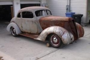 1936 Hudson 8 Business Coupe Photo