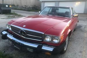 1988 Mercedes-Benz SL-Class Convertible Photo