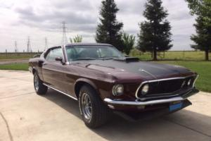 1969 Ford Mustang R code